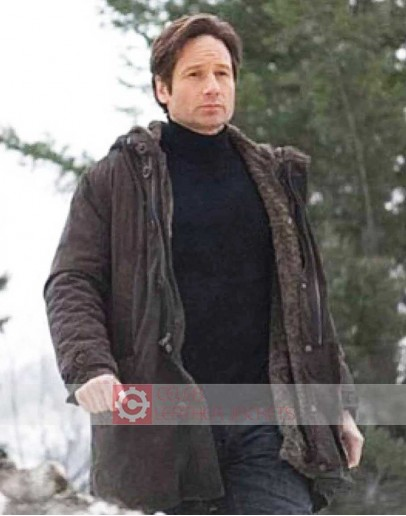 The X-Files David Duchovny Shearling Jacket