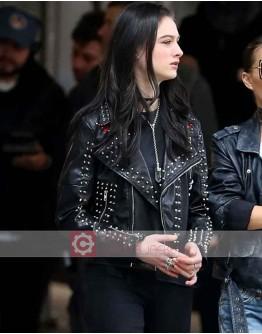 Vox Lux Raffey Cassidy Leather Jacket