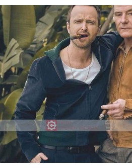 Aaron Paul Black Suede Jacket