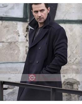 Berlin Station Richard Armitage Black Coat