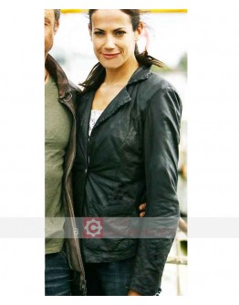 Bermuda Triangle North Sea Bettina Zimmermann Leather Jacket