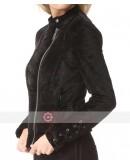Lacey Black Velvet Jacket
