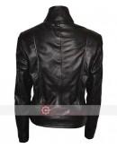 Fringe Anna Torv Biker Leather Jacket