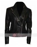 Fringe Anna Torv Biker Leather Jacket