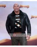 Jumanji The Next Level Dwayne Johnson Premiere Leather Jacket