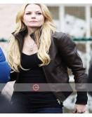 Once Upon A Time Jennifer Morrison Brown Leather Jacket