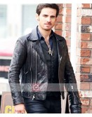 Once Upon A Time Colin O'Donoghue Biker Leather Jacket