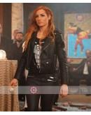 WWE Raw Becky Lynch Leather Jacket