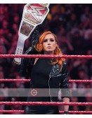 WWE Raw Becky Lynch Leather Jacket