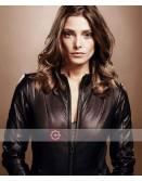 Accident Man Ashley Greene Leather Jacket