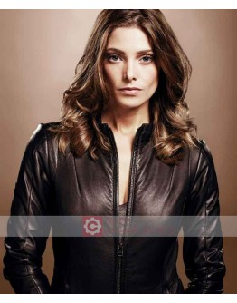 Accident Man Ashley Greene Leather Jacket