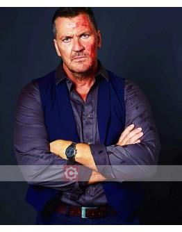 Avengement Craig Fairbrass Blue Vest