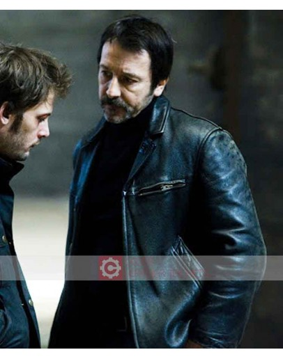 Braquo Jean Hugues Anglade (Eddy Caplan) Leather Jacket