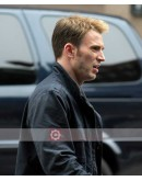 Captain America Winter Soldier Chris Evans Jacket