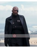 Captain America Winter Soldier Nick Fury Coat
