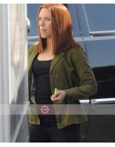Captain America Winter Soldier Scarlett Johansson Jacket