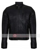 Cheap Black Biker Leather Jacket