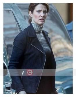 Avengers Infinity War Maria Hill Jacket
