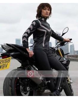 The Courier Olga Kurylenko Leather Costume