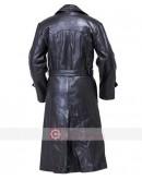 WW2 German Gestapo Cowhide Trench Leather Coat