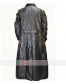 WW2 German Waffen SS Elite Military Officers Leather Coat