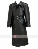 WW2 German Schutzstaffel Trench Leather Coat