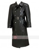 WW2 German Schutzstaffel Trench Leather Coat