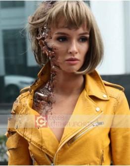 Better Than Us Paulina Andreeva Leather Jacket