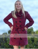 Big Little Lies Reese Witherspoon Red Trench Coat