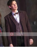 Doctor Who Matt Smith Brown Trench Coat