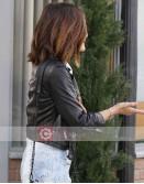 Pretty Little Liars Lucy Hale Black Leather Jacket