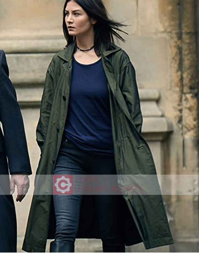 A Discovery Of Witches Malin Buska (Satu) Trench Coat
