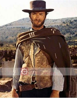 A Fistful Of Dollars Clint Eastwood (Joe) Leather Vest