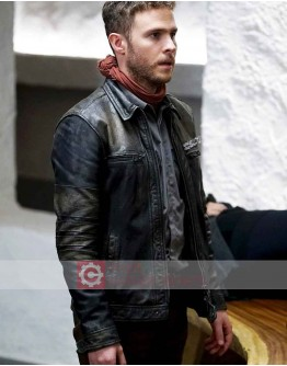 Agents Of Shield Iain De Caestecker Leather Jacket