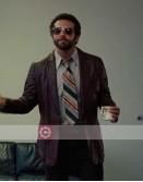 American Hustle Bradley Cooper Brown Leather Jacket