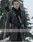 Arrow Karl Yune (Maseo Yamashiro) Leather Coat
