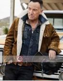 Bruce Springsteen Shearling Suede Jacket