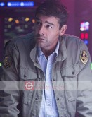 Godzilla Kyle Chandler (Dr. Mark Russell) Military Jacket