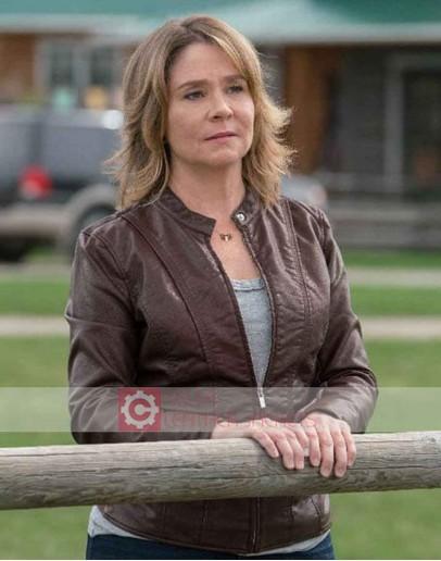 Heartland Megan Follows (Lily Borden) Leather Jacket