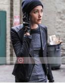 Hostages Sandrine Holt Black Leather Jacket