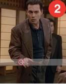Donnie Brasco Johnny Depp Brown Leather Jacket