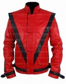Michael Jackson Thriller Costume Leather Jacket