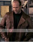The Bank Job Jason Statham Brown Leather Jacket