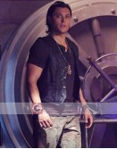The Gifted Blair Redford (John Proudstar) Leather Vest