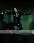 The Matrix 1999 Carrie Anne Moss (Trinity) PU Costume