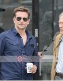 The Mule Bradley Cooper (Agent Colin Bates) Blue Shirt