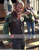 The Salvation Mads Mikkelsen (Jon Jensen) Leather Vest