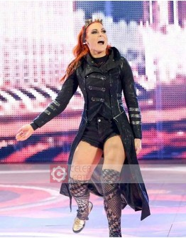 WWE Wrestler Becky Lynch Leather Coat