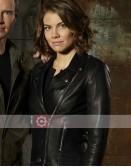 Whiskey Cavalier Lauren Cohan Leather Jacket