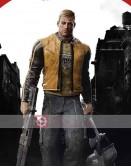 Wolfenstein 2 Brian Bloom (Blazkowicz) Costume Jacket